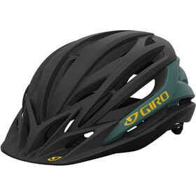 Giro Artex MIPS Kask rowerowy, czarny/zielony